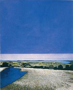 Phil Greenwood, Cotton Blue, Etching & Aquatint