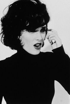 Winona Ryder; I have always loved her style, but she's got fairer skin and looks more like a pixie than me