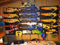 This Nerf Gun Collection Is Impressive, But It Won't Help Much During An Apocalypse.