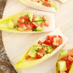 Fish-Filled Party Foods   Endive with Smoked Salmon   AllYou.com