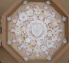 Sailor's Valentine Seashell Shell Art Dana Behnke