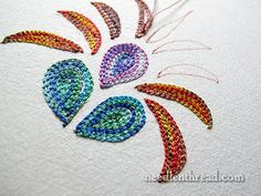 Tambour Embroidery  Mary Corbet's Site.... she states that Tambour is how beading is done by fashion houses...and it is easy to do.  Must try this.