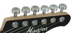 Upgrade with Custom Machinehead Buttons Manson Guitars, Machine Head, Evo, Buttons, Music, Image, Musica, Musik, Muziek