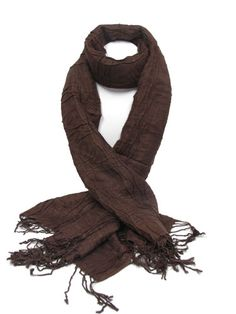 Color Chocolate - Chocolate!!!  brown scarf