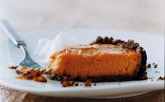 Sweet-Potato Pie with Gingersnap Pecan Crust. what even?? yes.