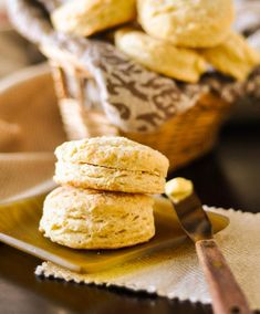 Flaky Southern Buttermilk Biscuits - with lots of tips for biscuit making
