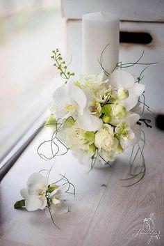 Wedding time. Candle. Wedding Bouquets, Wedding Flowers, Baptism Candle, Floral Arrangements, Centerpieces, Wedding Decorations, Floral Wreath, Candles, Flower Arrangements