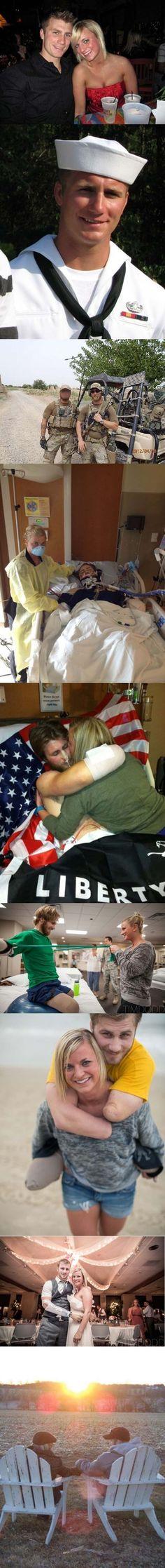 Quando Taylor e Danielle Morris nos mostraram que o amor verdadeiro supera todas as dificuldades.  Leia mais: http://www.tudointeressante.com.br/2013/12/24-fotos-tocantes-que-vao-te-agarrar-pelo-coracao.html#ixzz39CMt3QlF