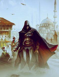 Assassin's Creed master and mentor ezio auditore da firenze in istanbul