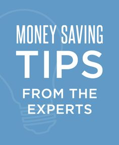Money saving tips for your #wedding-- from the experts of course!