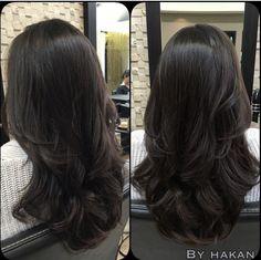 Ideas Hair Cuts Long Layers Ombre For 2019 Medium Hair Styles, Curly Hair Styles, Natural Hair Styles, Hair Medium, Medium Long, Long Layered Haircuts, Haircuts For Long Hair With Layers, Long Hair Cuts, Long Hair Short Layers