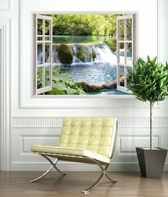 Wall Stickers Waterfall