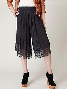 Sheer Crinkle Pants  Style: 22553192