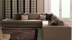 Huge American Leather sectional to have a movie night with the whole family and all of your friends!