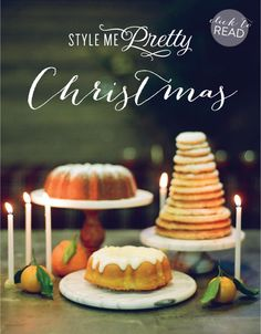 A Holiday E-Guide, Made Simple  Read more - http://www.stylemepretty.com/living/2012/12/24/a-holiday-e-guide-made-simple/