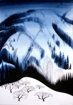 eyvind earle watercolor