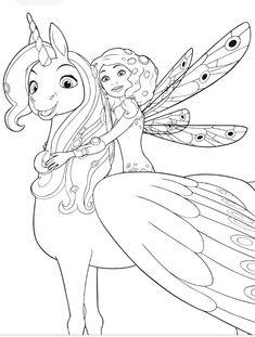 ausmalbilder mia and me 11 | mia and me | malvorlage einhorn, malvorlagen und malvorlagen pferde