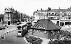 The Broadway c1965, Muswell Hill