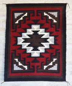 Ganado Navajo Weaving by Ethel Yazzie $450.00