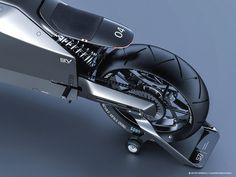 "Ukrainian designers Artem Smirnov and Vladimir Panchenko worked in collaboration to design this visually unique and forward-thinking motorbike concept. ""The Japanese approach to design has… Triumph Motorcycles, Concept Motorcycles, Japanese Cars, Japanese Culture, Ducati, Scooters, Mopar, Motocross, Samurai Concept"