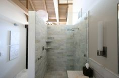 78 best Doorless shower images on Pinterest | Bathroom, Home ideas ...