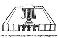 The Tabernacle - Mission Bible Class Kids Sunday School Lessons, Sunday School Curriculum, Sunday School Projects, School Ideas, Preschool Bible Lessons, Bible Activities, Tabernacle Of Moses, Old Testament Bible, Church Crafts