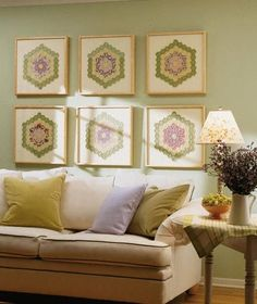 Quilt squares as art