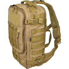 607d42a6fa2f Hazard 4 Switchback Full-Sized Laptop Sling Pack Coyote SKU  BKP-SWTC-CYT  with Elite Tactical Cloth. Molle BagHiking ...