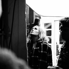 #Adele Behind The Scenes of Video Hello. Directed by #XavierDolan. Photo by Shayne Laverdiere. Video by #BelieveMedia