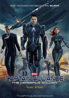 Mass Effect: Captain Alliance by TruePrince.deviantart.com on @deviantART
