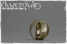 yellow-white gold wedding rings - sárga-fehér arany jegygyűrűk
