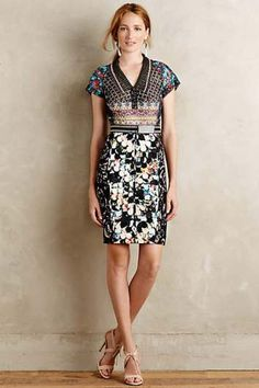 Margot Pencil Dress by Beguile by Byron Lars #anthrofave #anthropologie