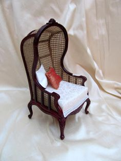 Hooded Chair (this site has many beautiful miniatures on it)