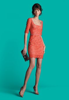 Perfect for Spring - this week's winning look by Amber Perley. #lace #spring