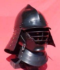 One of these days. Samurai Helmet, Warrior Helmet, Samurai Armor, Sca Armor, Knight Armor, Medieval Armor, Armadura Medieval, Martial, Film Inspiration