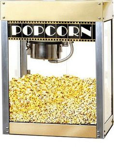 Popcorn....the one smell that makes me sooo happy...just smelling it...happiness <3