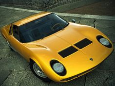 Lamborghini Considering Successor To The Legendary Miura