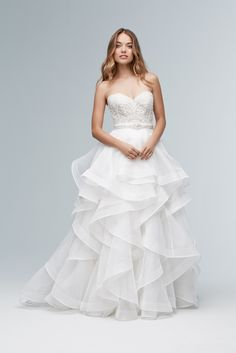 Wtoo by Watters - Nori Skirt @ Town & Country Bridal Boutique - St. Louis, MO - www.townandcountrybride.com