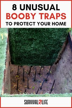 Nowadays, crime is increasing at an alarming rate. So check out this 9 kickass booby traps for a more secured and protected homestead. #boobytraps #survivalskill #survivalhack #survivallife Survival Hacks, Survival Life, Emergency Preparedness, Survival Skills, Sprinkler Valve, Bug Out Location, Snare Trap, Letting Your Guard Down, Film Home