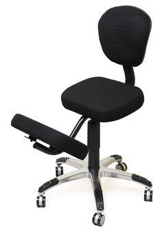 Смартстул - Офисное кресло с упором для коленей - OK04BРост от 160 см до 195 см Вес до 100 кг  Офисный коленный стул с газлифтомв наличии12 310 руб