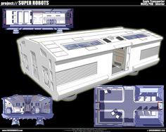 Space 1999: Eagle transporter by cosedimarco.deviantart.com on @deviantART