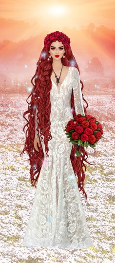 Red Hair Woman, Visionary Art, Covet Fashion, Designer Dresses, Jackson, Barbie, Beautiful Women, Magic, Fantasy