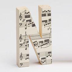Vintage Music Letters