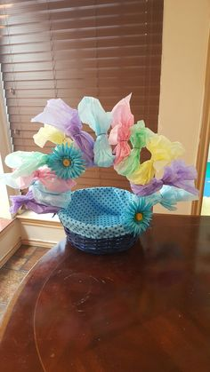 Trolls easter basket that is doubling as a birthday party troll easter basket negle Images