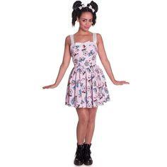 HELL BUNNY FUNFAIR VINTAGE 50'S STYLE CUPCAKE PRINT MINI PARTY DRESS (L8B) | eBay