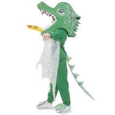 Fire-breathing Dragon - Homemade Costume for Kids