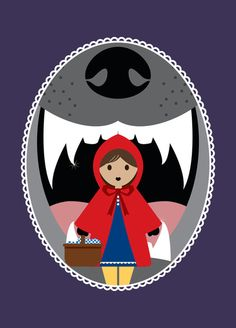 Little Red Riding Hood Dans la gueule du loup Red Riding Hood Wolf, Red Riding Hood Party, Red Ridding Hood, Werewolf Vs Vampire, Charles Perrault, Big Bad Wolf, Fairytale Art, Red Hood, Pictogram