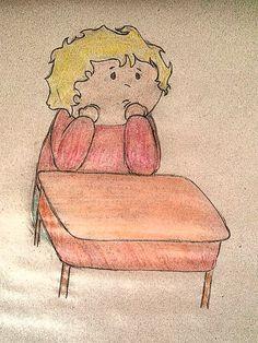 Que aburrición tan aburrida, de nuevo ¡no! mi maestra con las letras y escriba que escriba y lea que lea. Parece eterno, nunca voy a aprender, además ¿para que? ¿si para historias hay videos en la tele y el computador?