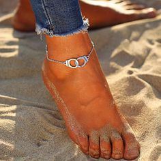 $9.40 | ZG Colorful Rope String Chain Ankles For Women Boho Beads Barefoot Bracelet Ankle on Leg Female Ankle Strap Foot Jewelry Outfit Accessories FromTouchy Style | Free International Shipping. Cute Anklets, Silver Anklets, Teenager Fashion Trends, Anklet Bracelet, Bracelets, Barefoot Girls, Colorful Fashion, Bohemian Style, Boho