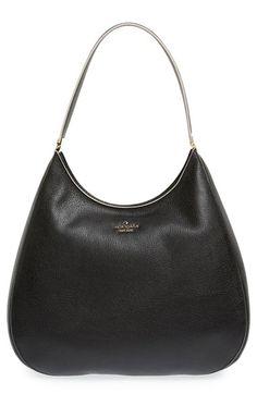 KATE SPADE NEW YORK 'Concord Street - Susie' Boarskin Embossed Leather Shoulder Bag. #katespadenewyork #bags #shoulder bags #leather #lining